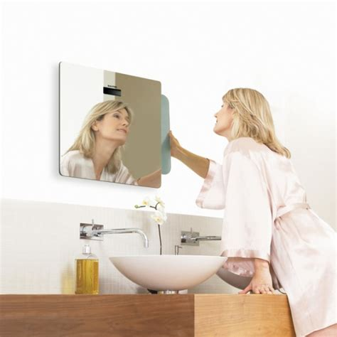 cool mirror for small bathroom salter mirror scale
