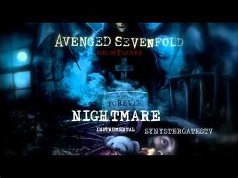 a7x strength of the world instrumental avenged sevenfold nightmare official instrumental
