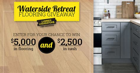 Diy Sweepstakes - diy network waterside retreat flooring giveaway