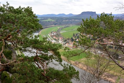 Small Villages by Saxon Switzerland National Park