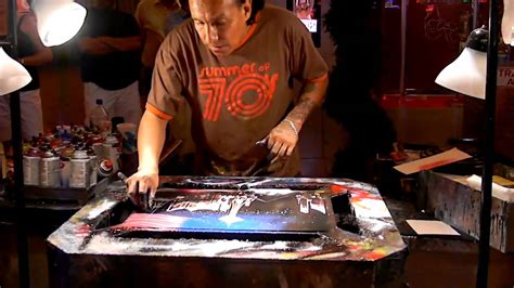 spray paint las vegas fremont tony vegas spray painting on fremont