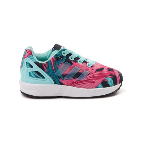 toddler adidas zx flux athletic shoe pink 99436230