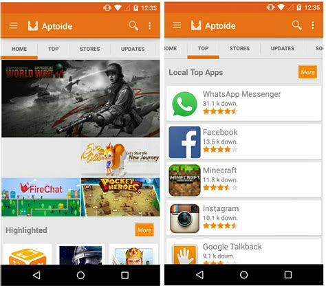 aptoide home aptoide apk download for android ios pc aptoide app