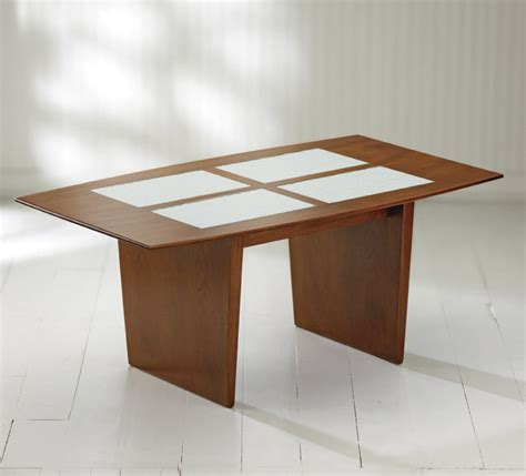 Wood Coffee Table With Glass Insert Mystic Coffee Table With Glass Inserts By Ken Reinhard Wood Coffee Table Artful Home