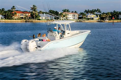 cobia 277 boat test cobia 277 sea magazine