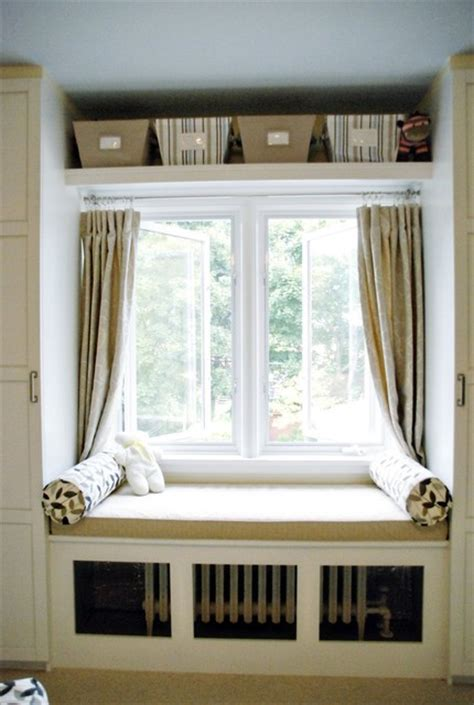 window with bench window bench