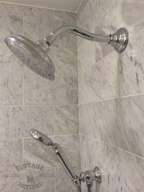 guest bathroom makeover vintage refined