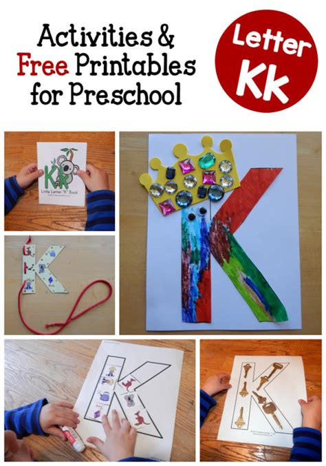 activities for letter k activities the measured