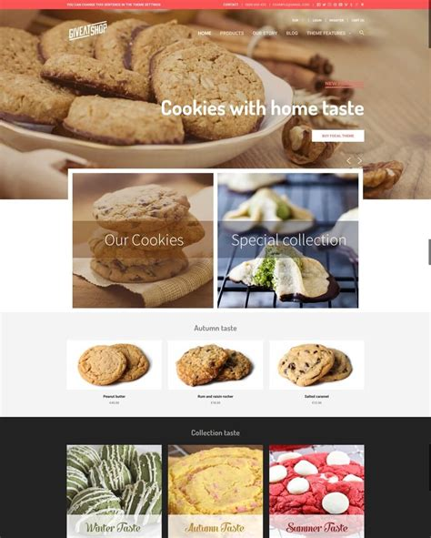 shopify themes bakery 12 best responsive shopify themes for bakery coffee shop