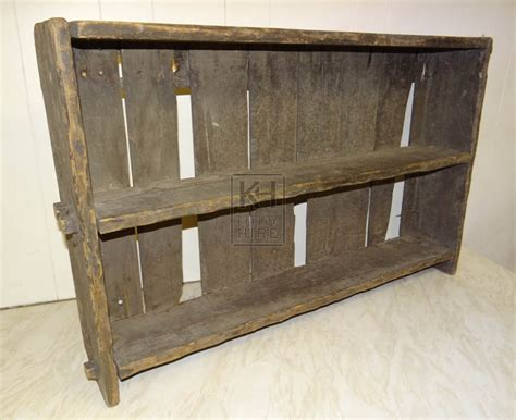 Small Wooden Shelf Unit by Prop Hire 187 Furniture 187 Small Single Wood Shelf Unit