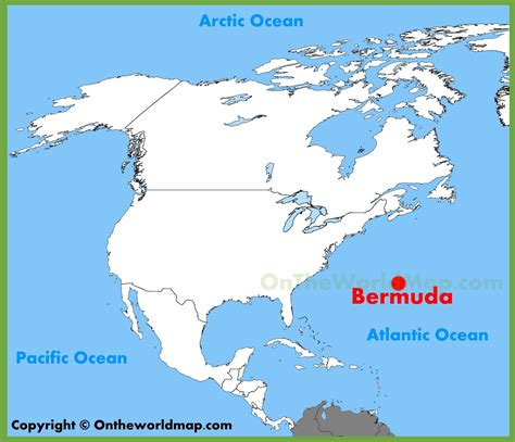 united states map jamaica bermuda location on the america map