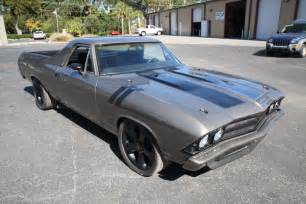 1971 Chevelle Ss Interior 1969 Chevy El Camino Custom Build Classic Chevrolet El