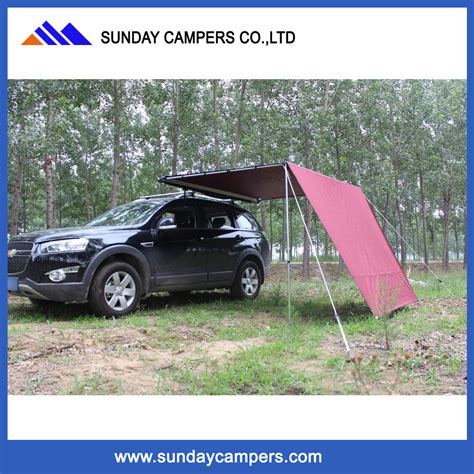 side awnings for 4wds canvas car awning vehicle side awning car tents for picnic
