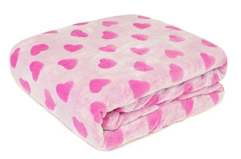 crb frosted blanket pink