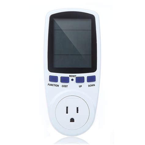 Monitor Lcd Power Max ac 120v 60hz max 15a lcd display power meter energy watt s volt electricity usage monitor