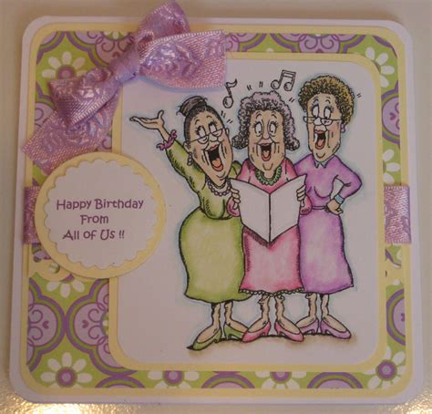 junie s craft creations happy birthday from all of us