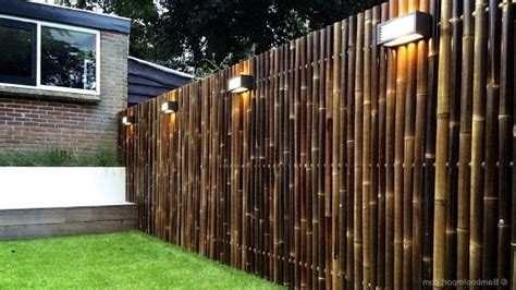 Backyard Bamboo Fencing by Bamboo Privacy Fencing Fence Ideas