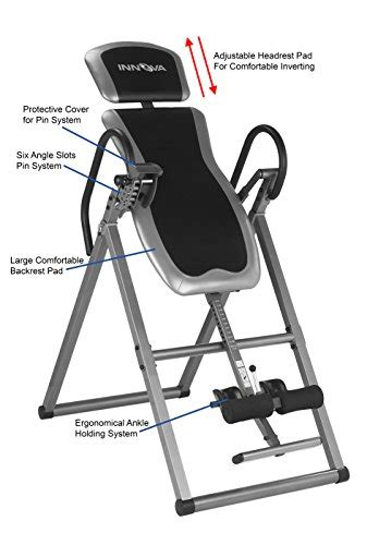 innova heavy duty inversion table innova itx9600 heavy duty inversion table with adjustable