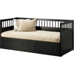 Daybed Ikea Black Ikea Hemnes Daybed Frame With 2 Drawers Black Brown