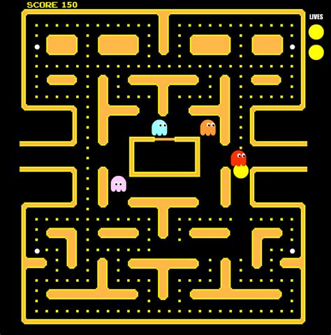 pacman play pacman board pictures to pin on pinsdaddy