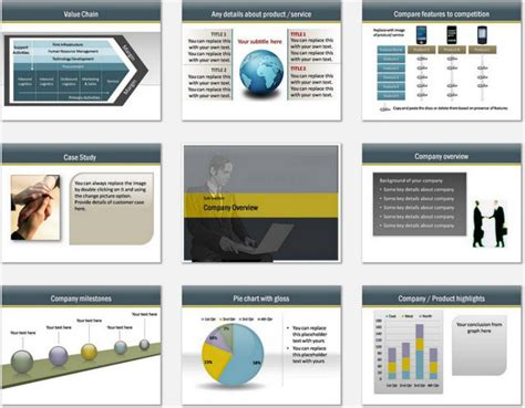 Powerpoint Consulting Services Template Consulting Slide Templates
