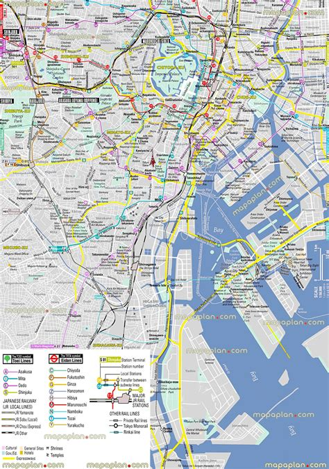 tokyo map tourist attractions maps update 12361258 tourist map of tokyo tourist map