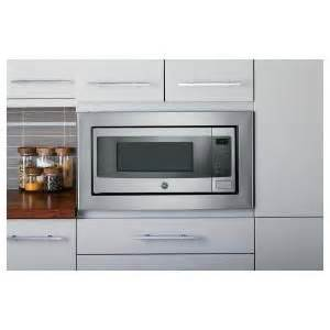 Stainless Steel Countertops Home Depot Profile 1 1 Cu Ft Countertop Microwave In Stainless Steel