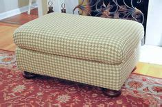 how to reupholster a pillow top ottoman how to reupholster a pillow top ottoman ottomans and html