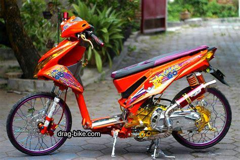 Motor Modifikasi Matic by 50 Foto Gambar Modifikasi Beat Kontes Racing Jari