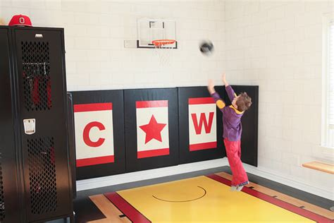 basketball hoop wall mount