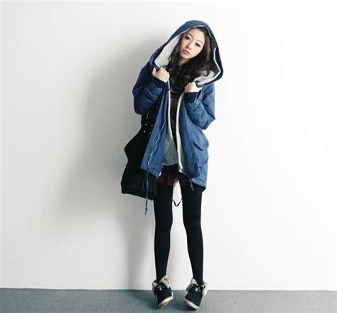 Sepatu Korea Boot Denim women s winter fashion trends in korea 2011 soompi