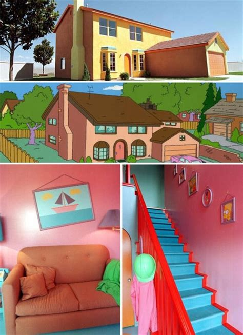 The Simpsons House by The Simpsons House Humor Me
