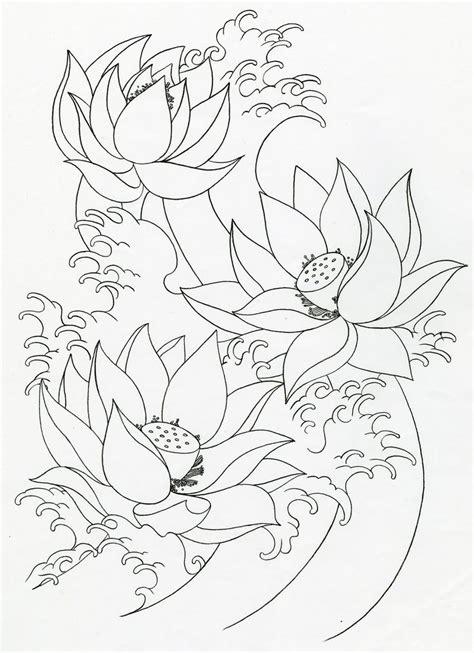lotus pattern drawing lotus flower drawings for tattoos mike s tattoo design
