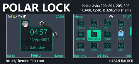 live themes nokia 200 polar lock live theme for nokia c3 00 x2 01 asha 200
