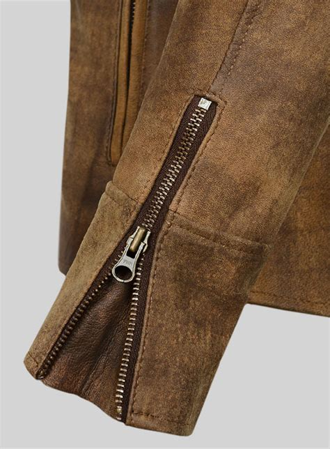 leather cycle jacket heritage brown leather cycle jacket 3 leathercult com