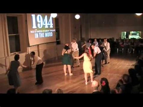 swing dance routine swing dancing in the mood lindy hop routine youtube