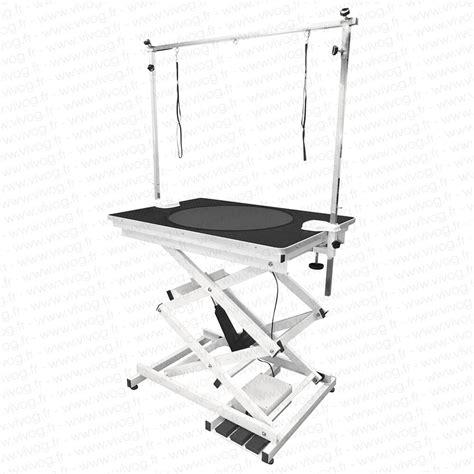 table electrique table 233 lectrique avec plateforme de travail rotative vivog