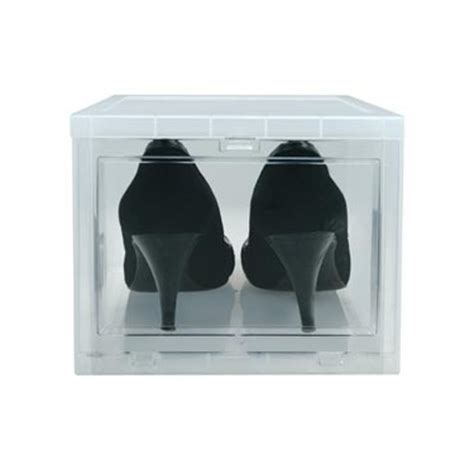 iris drop front shoe box iris drop front shoe box storage small shop drop front