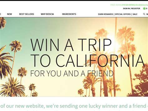 Burke Williams Gift Card Expires - boscia 2015 win a trip to california sweepstakes sweepstakes fanatics