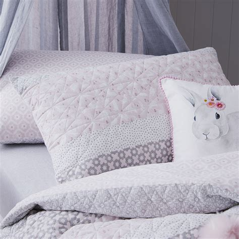 kids coverlets adairs kids eloise quilted quilt cover set pink adairs