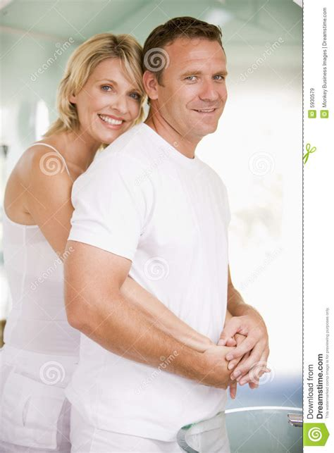 couples in bathroom couple in bathroom embracing royalty free stock images image 5930579