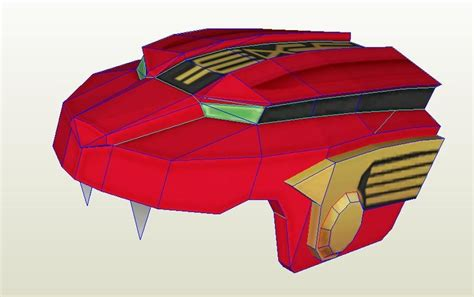 Power Ranger Papercraft - papercraft power ranger papercraft