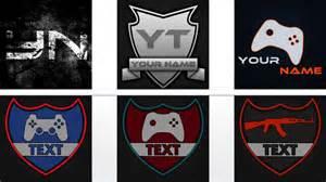 free gaming logo templates youtube