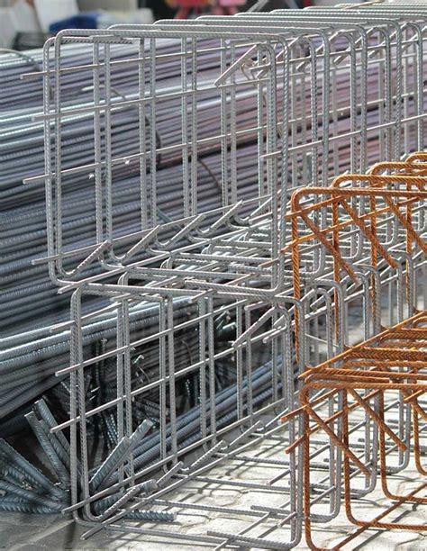 gabbie in ferro gabbie quadrate in ferro per cemento armato