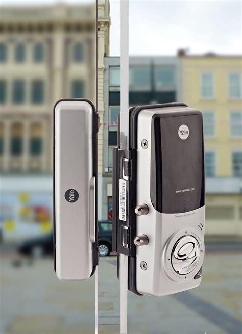 Yale Ydg 313 Strike Plate digital door locks for glass doors