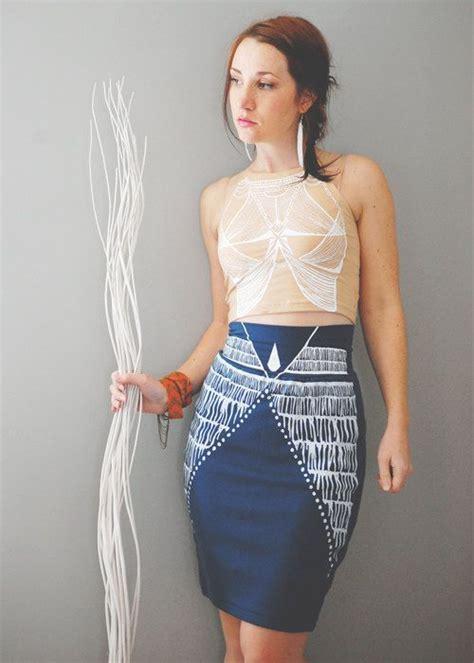 nyala high waist pencil skirt sea blue midi skirt midi