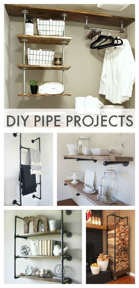 industrial diy projects industrial pipe projects whiteaker