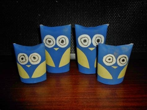 Things You Can Make Out Of Toilet Paper Rolls - owl family my kid craft