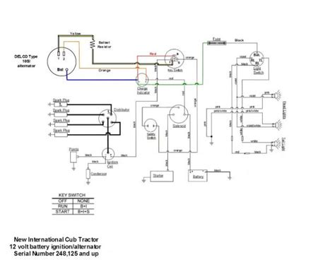 international farmall tractor wiring diagram