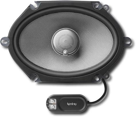 6x8 infinity speakers infinity 6829cf 300w peak 6 x 8 5 x 7 inch 2 way